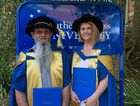 Southern Cross University 2016 PhD graduates Dr Gregory Smith and Dr Kate Neale, two of five SCU students to become doctors of philosophy on the weekend.
