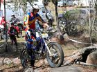 The Australian Moto Trials descended on the Granite Belt's rough terrain at the weekend.