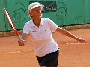 Margaret wins silver at over-85s world tournament