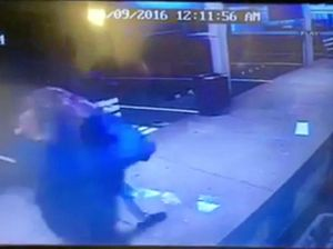 Park Av Snack Bar attempted break-in