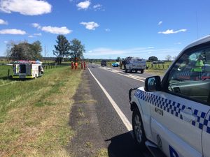 Two killed in horror highway crash
