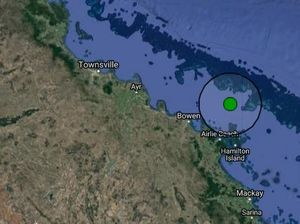 Earthquake strikes off the coast of Airlie Beach