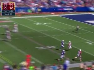 WATCH: Cardinal takes amazing one-handed catch against Bills
