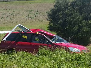A woman is fighting for her life after the double crash. Photo: Trev The Towie.