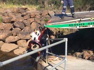 Man dies on scooter