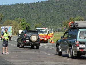 Two car collision closes Bruce Hwy for almost two hours