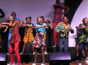 The Watoto Choir performed at RSL Care Fernhill Retirement Community on Wedensday  as part of its tour of Australia.