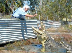 LISTEN: Croc expert John Lever shares his close encounters