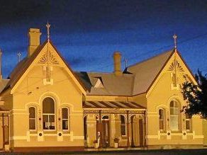 The historic Tenterfield Railway Station.
