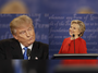 Hillary Clinton and Donald Trump clash in debate