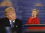 Hillary Clinton and Donald Trump clash in debate