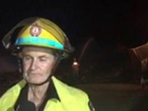 Boyne Island fire captain Greg Chandler
