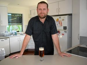 BEER BARON: Yeppoon man Alex Taubert won the award for the best amateur home brew in Queensland earlier this month and will compete in the national championships in Adelaide next month.