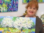 LABOUR OF LOVE: Artist Di Elsden showcases her Monet's garden series, which is now on display at Tosari Galleries. The series was three years in the making.