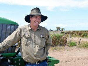 """I think in the future food should be a huge part of our foreign aid.\"" Farmer Carl Walker. Photo: Emily Smith / The Daily Mercury."