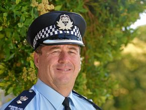 Top cop's stern warning on DV, and it's mostly aimed at men
