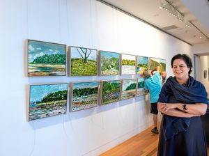 Local beauty inspires artists