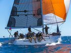 A handful of boats turns out for Two Handed Series