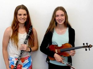 Talented young musicians hitting all the right notes