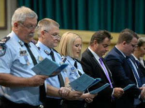 Nation pauses to remember fallen police officers