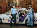 THANKS to the help of Laidley police officer Senior Sergeant Jim McDonald, Batman (John Lynch, 77) was able to capture his arch nemesis the Joker (Cecil Granzien
