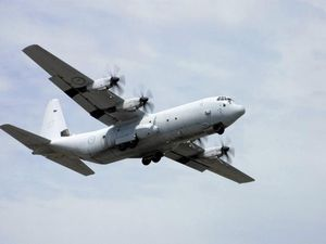 Did you notice the Hercules flying over Mackay today?
