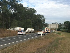 UPDATE: QAS confirm one killed in horror Bruce Hwy crash