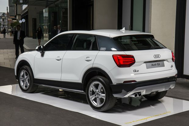 A New Star Audi S Q2 Compact Suv Shown In Sydney