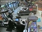 CCTV footage of a robbery at Goodna IGA from this week.