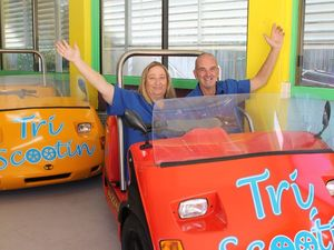 Beep beep! You too can ride Bay's funky new cars