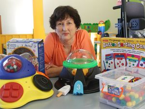 BEST JOB: Kerrie Hunsley has worked at the Maryborough Toy Library for the past 29 years, and is now heading into retirement to enjoy time with family.