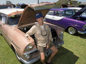 Crowds gather to celebrate old, colourful Holdens
