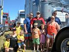 Truckies get ready for a massive Lights on the Hill weekend at Bundamba