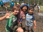 Muddy Monsters a hit at Logan River Parklands.