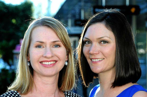 Jade Collins (left) and Alanna Bastin-Byrne, Founders of Femeconomy