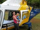 THE Bundaberg-based RACQ LifeFlight Rescue helicopter has flown two rescue missions to Fraser Island in about six hours