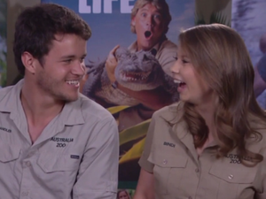 Bindi Irwin talks about boyfriend Chandler Powell