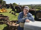Clive Kowald is selling his collectiion of Ferguson tractors and an assortment of related and other items in a clearing auction.