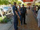 CITY SLITHER: Police rescued a carpet snake from the Bundaberg CBD.