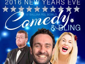 MANDY NOLAN PRESENTS NYE Comedy Bling @ The Bowlo FEATURING GORDON SOUTHERN WITH SUPPORT GREG SULLIVAN