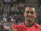 Nick Kyrios wins 4-6, 6-3, 7-5 in Japan Open final.