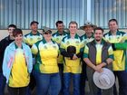 PARTICIPANTS: The Emerald Archery Club had archers attend the titles in Wagga Wagga.