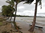 BE PREPARED: A wind-swept Airlie Beach after the Tropical Cyclone Dylan hit in 2014.