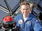 PILOT: RAAF Roulettes Squadron Leader Dan Kehoe grew up in Maryborough.