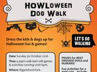 Dress up the kids in their favourite costume and come along for an afternoon of fun and games with or without your four legged friend.