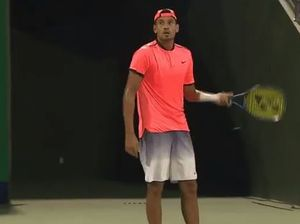 "Nick Kyrgios quits match, says: ""I don't owe you anything"""