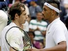 Novak Djokovic and Andy Murray say they hope Nick Kyrgios can turn his poor behaviour around, despite his effort at the Shanghai Masters.