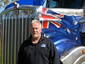 Truckin' on the border: Clinton McKinnon