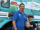 ENJOYING the Riverina Truck Show and family day at Lake Albert in Wagga was Tim Rath, who had earlier driven through the city as part of the Convoy for Kids in