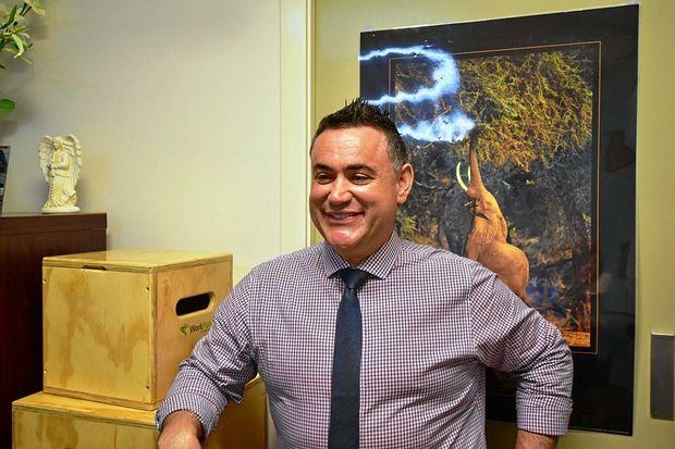 NSW Small Business Minister John Barilaro.